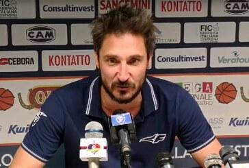 A2 Playoff – Ottavi Gara3: la conferenza stampa di Pozzecco post match Agrigento