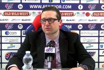 A2 Playoff – Semifinali Gara 2: la conferenza stampa di Ramondino post match Fortitudo