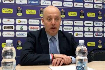 Reggio Emilia, la conferenza stampa di Menetti post match Virtus