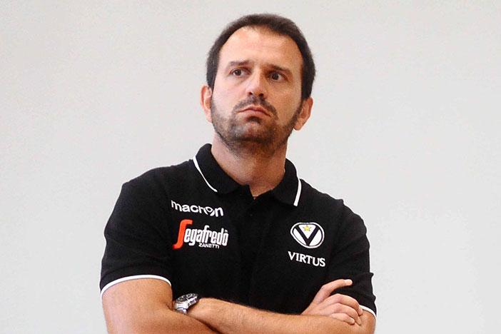 Virtus, risolto il contratto con Daniele Cavicchi