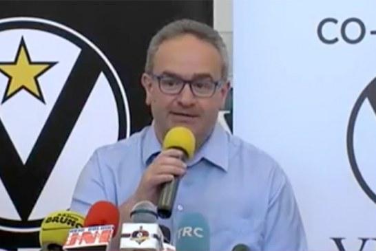 "Virtus, presentato Stefano ""Pino""Sacripanti"