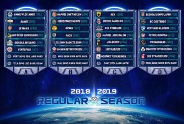 Basketball Champions League: ecco il calendario della Virtus