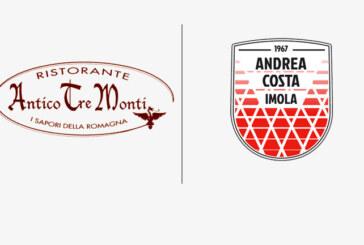 Imola, rinnovata storica partnership col Ristorante Antico Tre Monti