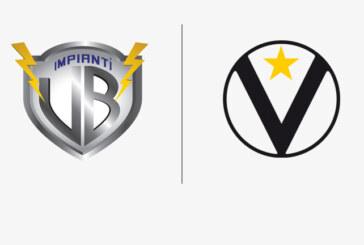 """Virtus, VB impianti nuovo """"Jersey Sponsor"""""""