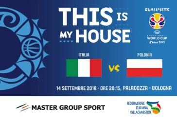 Fortitudo, per tutti gli abbonati ingresso scontato per Italia-Polonia