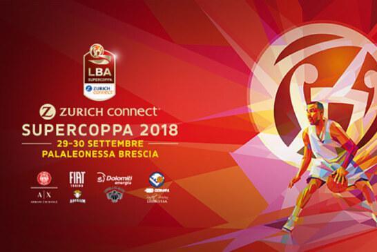 Supercoppa LBA 2018, a Milano la terza Supercoppa consecutiva