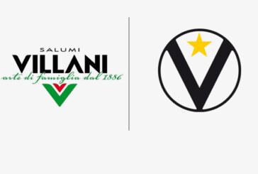 Virtus, Villani Salumi diventa Top Sponsor