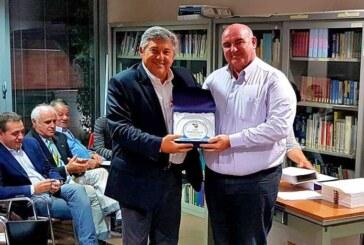 Cento, Pulidori ritira il premio FIP per la promozione in A2