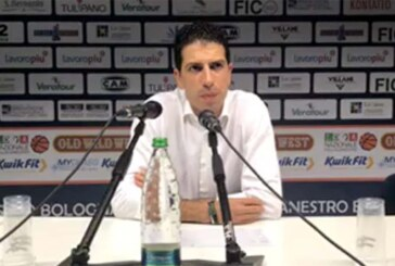 Fortitudo, coach Antimo Martino post match Hertz Cagliari