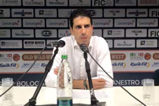 Fortitudo, coach Antimo Martino post match Cento