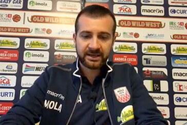 Imola, coach Emanuele Di Paolantonio presenta il match contro Roseto