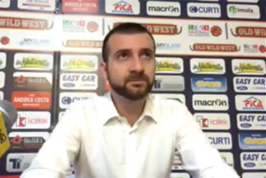 Imola, coach Emanuele Di Paolantonio post match Udine
