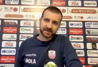 Imola, le parole di Di Paolantonio post match Fortitudo