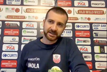 Imola, Emanuele Di Paolantonio presenta il match contro la Fortitudo