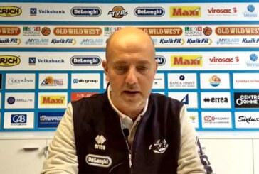 Treviso, le parole di coach Menetti post match Fortitudo