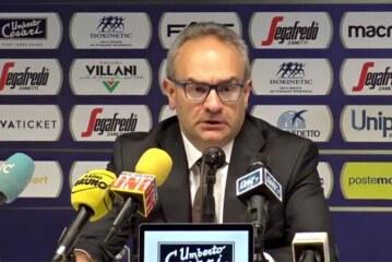 Virtus, Sacripanti post match Dinamo Sassari