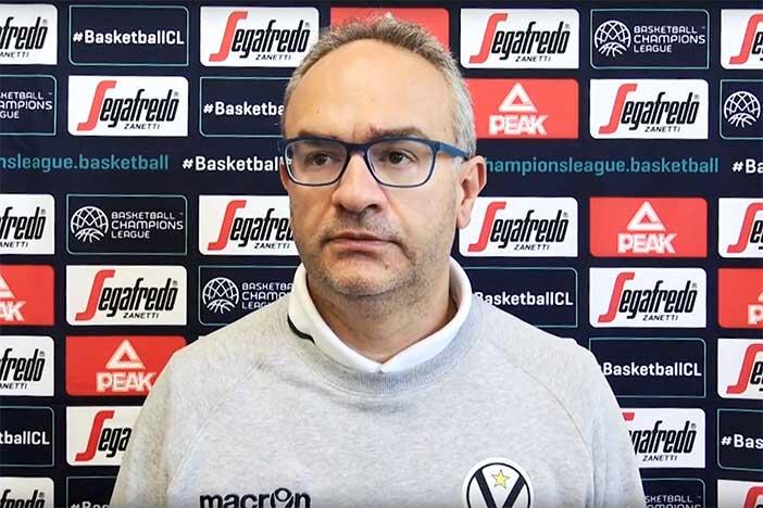 Virtus, Sacripanti presenta il match contro il Besiktas