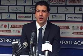 Fortitudo, coach Martino post match Ferrara