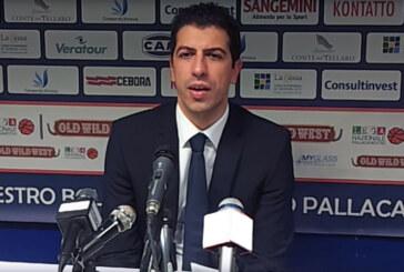 Fortitudo, coach Antimo Martino post match UCC Piacenza