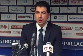 Fortitudo, coach Antimo Martino post match Imola