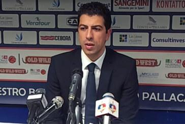 Fortitudo, coach Antimo Martino post match Udine