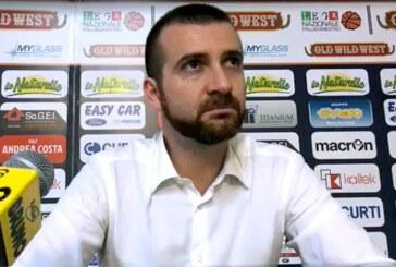 Imola, coach Emanuele Di Paolantonio post match Montegranaro