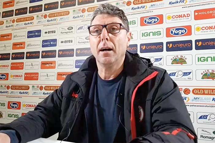 Cento, Giovanni Benedetto presenta il match contro Montegranaro