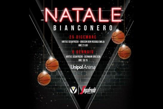 "Virtus presenta ""Natale Bianconero"", iniziativa per i match di Natale ed Epifania"