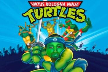 Virtus, per la BCL ecco i bianconeri in versione Tartarughe Ninja