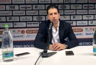 Fortitudo, coach Antimo Martino post match Verona