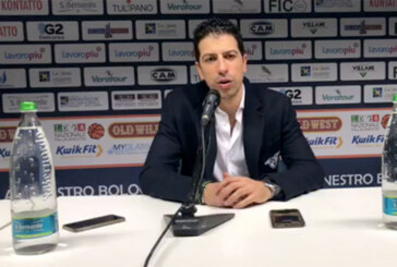 Fortitudo, coach Antimo Martino post match Cagliari
