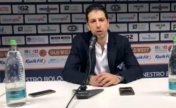 Fortitudo, coach Antimo Martino post match Roseto