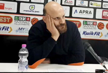 Jesi, coach Damiano Cagnazzo  presenta il match contro Cento