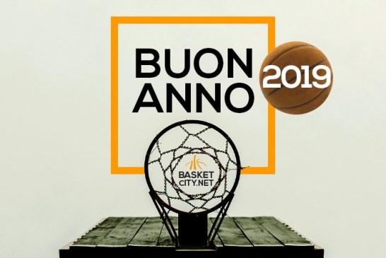 Tanti auguri di un buon 2019 da BasketCity.net