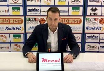 UCC Piacenza, coach Gabriele Ceccarelli presenta il match contro la Fortitudo