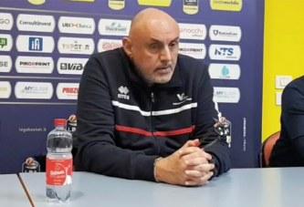 Pesaro, Matteo Boniciolli post match Virtus