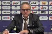Virtus, coach Stefano Sacripanti post match Avellino