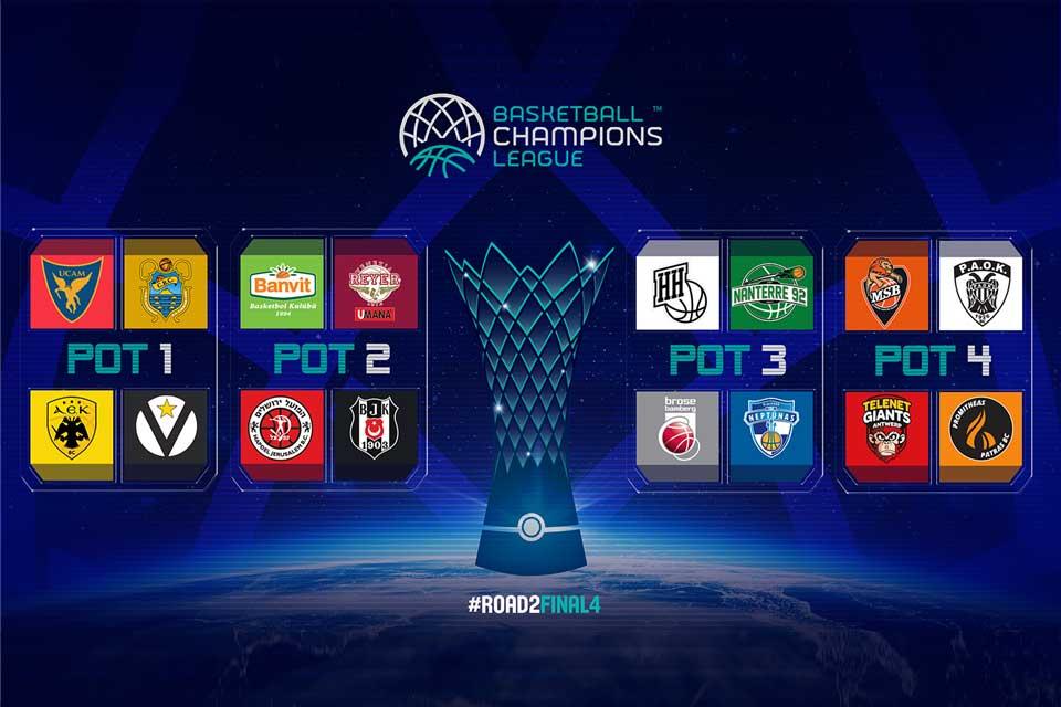 Basketball Champions League, venerdì si scoprirà la sfidante della Virtus