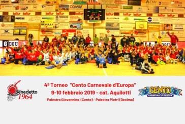 "Cento, 4° Torneo Minibasket ""Cento Carnevale d'Europa"""