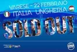 Nazionale: per Italia-Ungheria ancora 100 posti disponibili