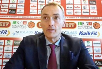 Cento, coach Luca Bechi post match Montegranaro