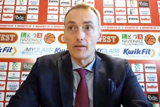 Cento, coach Luca Bechi post match Udine