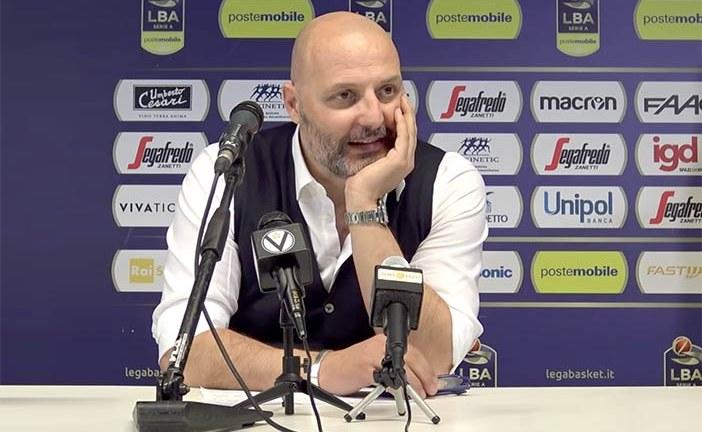 Virtus, Aleksandar Djordjevic post match Brindisi