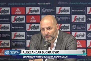 Virtus, Aleksandar Djordjevic post match Iberostar Tenerife