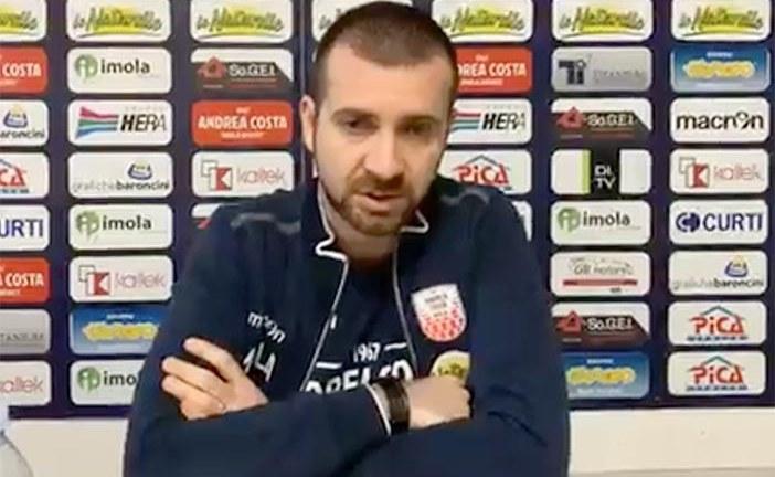 Imola, Emanuele Di Paolantonio presenta il match contro Forlì