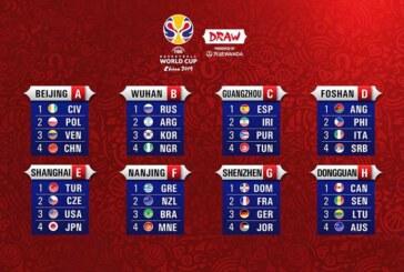 FIBA World Cup 2019, l'Italia nel Girone D con Angola, Filippine e Serbia