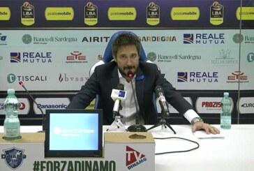 Sassari, Gianmarco Pozzecco post match Virtus