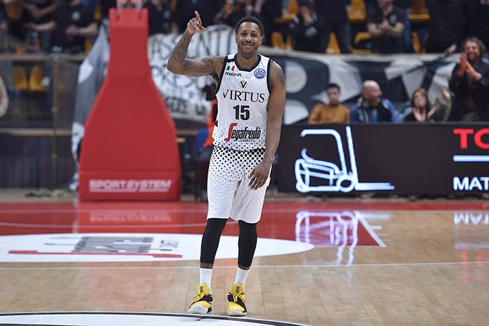 "Virtus, questa sera Mario Chalmers a ""Sport Club"" su E'Tv"