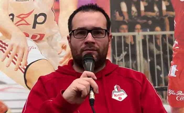 Legnano, Alberto Mazzetti in vista di Gara5 contro Cento