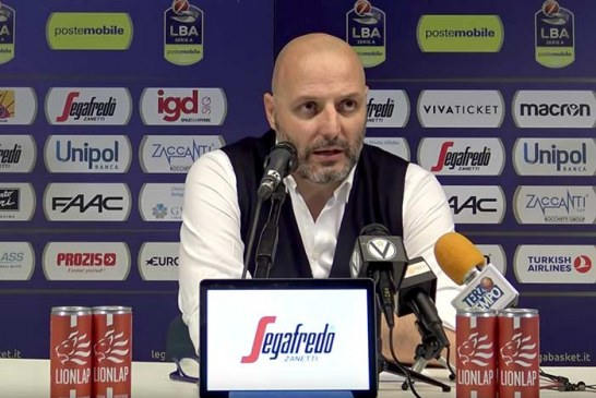 Virtus, Aleksandar Djordjevic post match Reggio Emilia